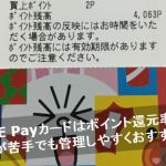 LINEPayカードを発行して使ってみた!クレカが苦手な方でも使いやすいですよ