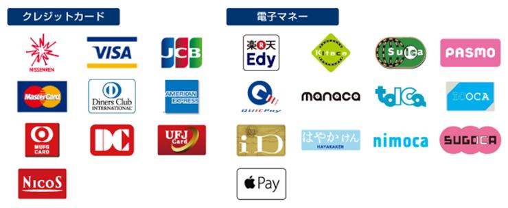 ハッピードラッグの各種支払いサービス