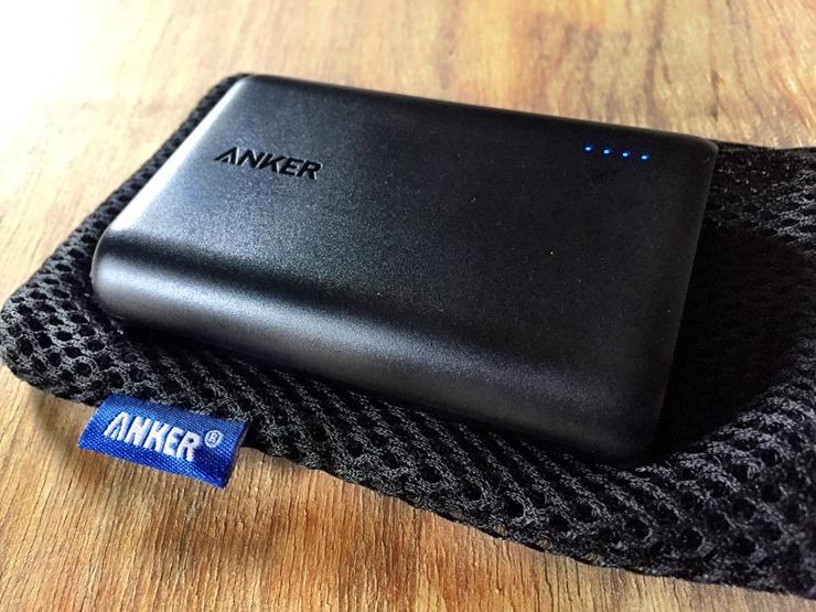 Anker PowerCore 10000のバッテリー容量