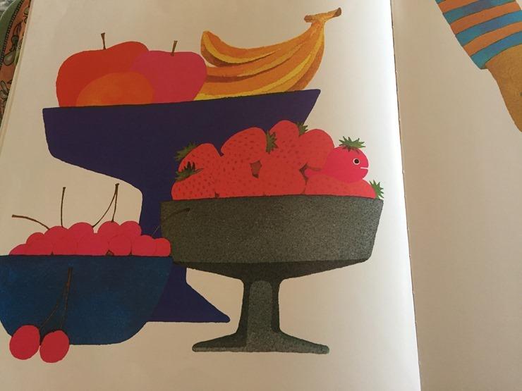 きんぎょがにげたのフルーツ