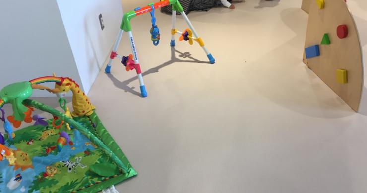 はこだてキッズプラザ内の赤ちゃん用おもちゃ
