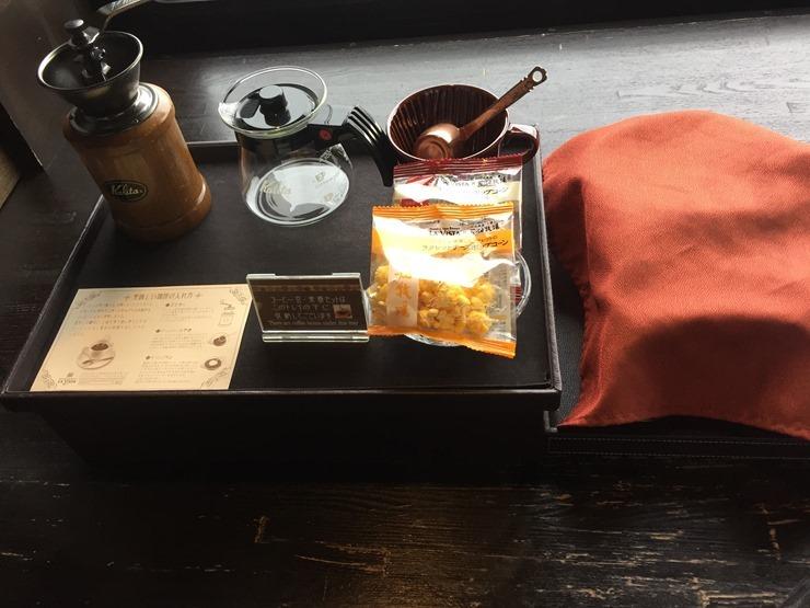 ラビスタ函館ベイの茶菓子