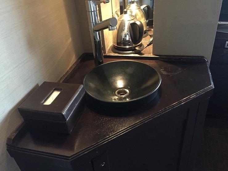 ラビスタ函館ベイの客室の水道