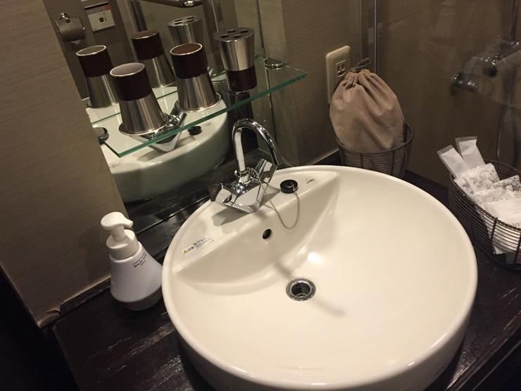 ラビスタ函館ベイの洗面台