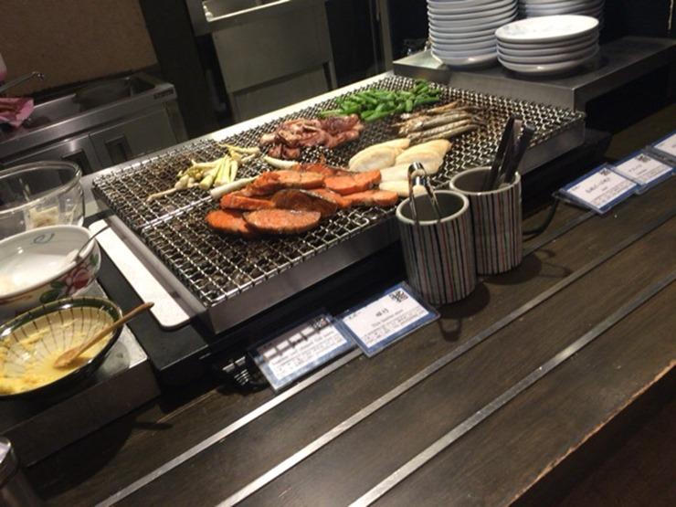 ラビスタ函館ベイ朝食の焼き物