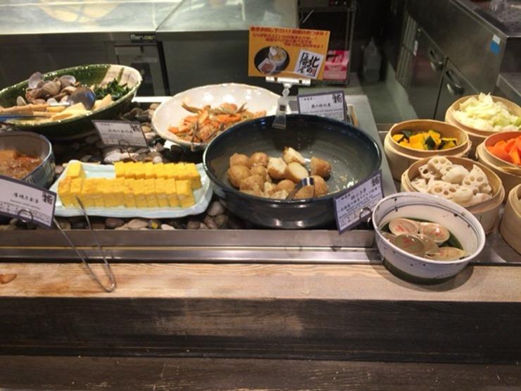 ラビスタ函館ベイ朝食のおかず
